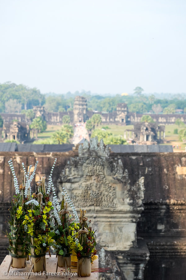 Angkor Wat from top level
