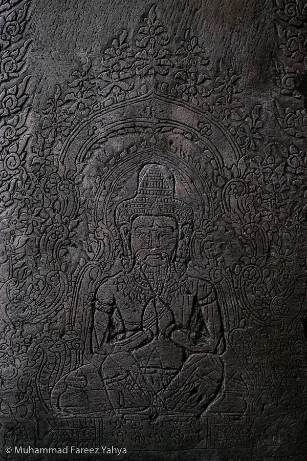 Carving at Ta Prohm